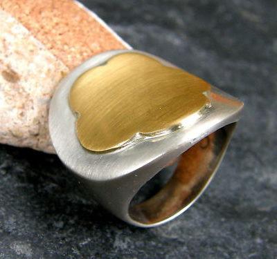 Designer Ring Silber