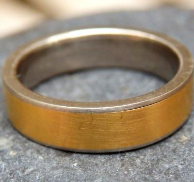 Designer Ring Weißgold