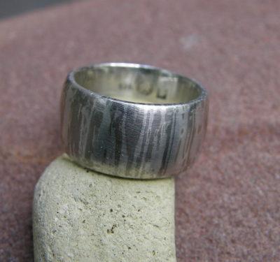 Unikat Ring Silber