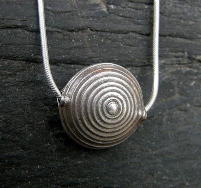 Designer Kette Silber