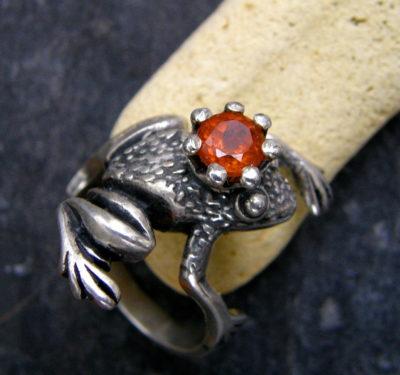 Froschkönig Frosch Ring