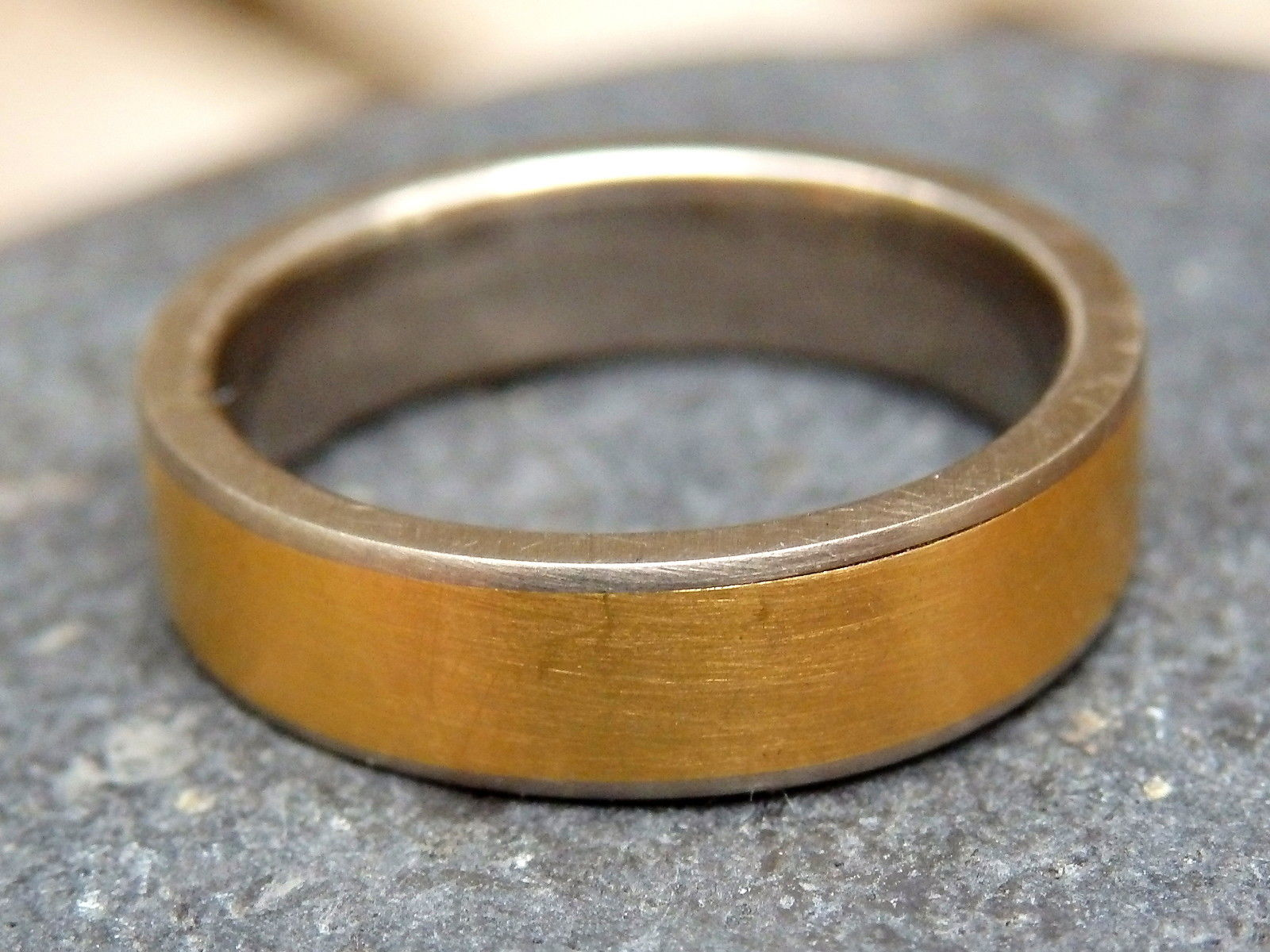 Designer Ring Weißgold 585 Gold 900 Unikat