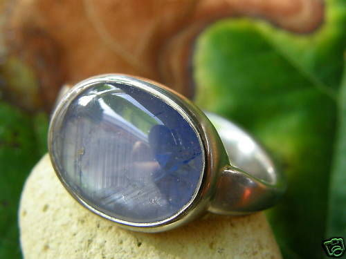 Ring Platin 950 Stern - Saphir 3,5 ct Unikat Safir