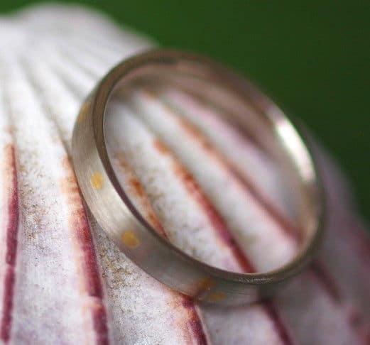 Unikat Ring Platin 950 Gold 900 schlicht matt Trauring 53
